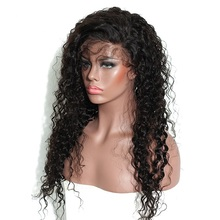Full Lace Curly Human Hair WigS for Women