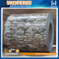Exterior Panel Brick Pattern Steel Coil