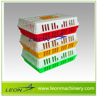 Leon Series Plastic Circulating Chicken Animal Transport Cage