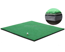 3D golf driving mat for hitting practice