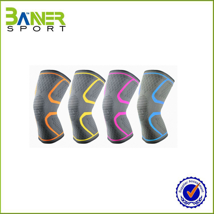 Reversible Neoprene 7mm Knee Support / Compression 7mm Knee Sleeve for Weight Lifting / Crossfit / Powerlifting