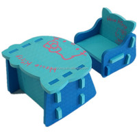 EVA Foam Table and Chair set for children