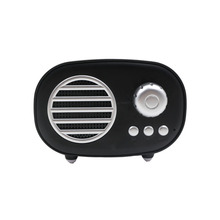 Retro radio shape mini makaron color cute wireless blue tooth speaker for <strong>mobile</strong> <strong>phones</strong>