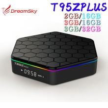 T95Z Plus 3GB 32GB Android 6.0 Amlogic S912 Octa Core Dual WiFi 1000M Gigabit 2GB 16GB Smart TV Box