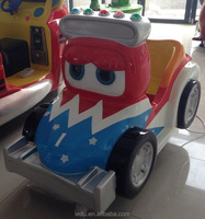 Coin operated kiddie rides