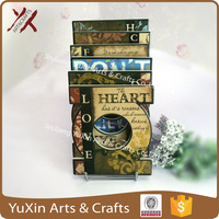 Yuxin art heat resistant table trivet ceramic cook pan printed letter pad cushion