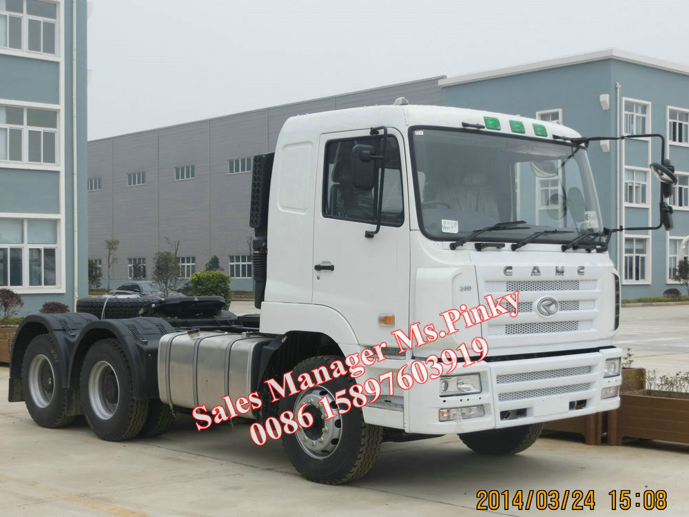 Hualing Star CAMC Right Hand Drive Tractor Truck 380HP 10Wheels New Hot Sales