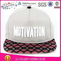 Custom name design your logo custom snapback oem
