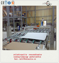 gypsum powder and gypsum board production machinery for gypsum manufacturing plant