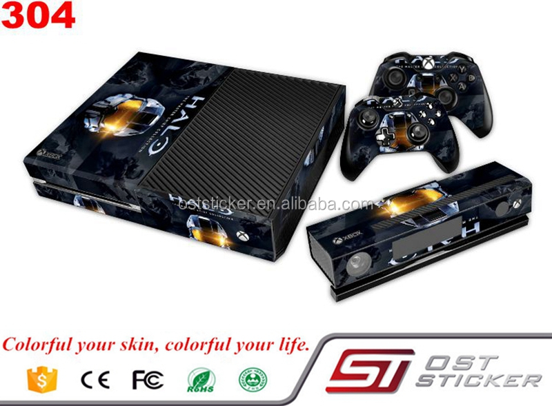 Games Console Custom Sticker For Xbox One Vinyl Skins Console and Controllers