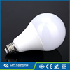 Intelligent emergency aluminum alloy and glass round shape 12w led light bulb