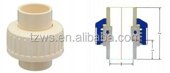 High Quality Import Cheap Goods From China Market Union Pvc Pipe Fitting Union