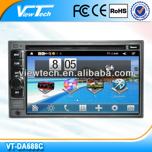 6.2 inch 2 din android gps wifi 3g car dvd