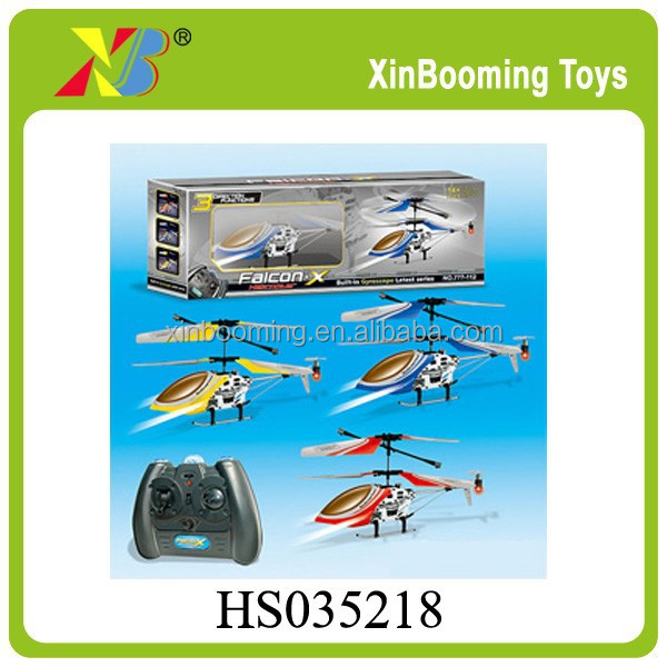 3CH RC METAL INFRARED HELICOPTER WITH GYRO