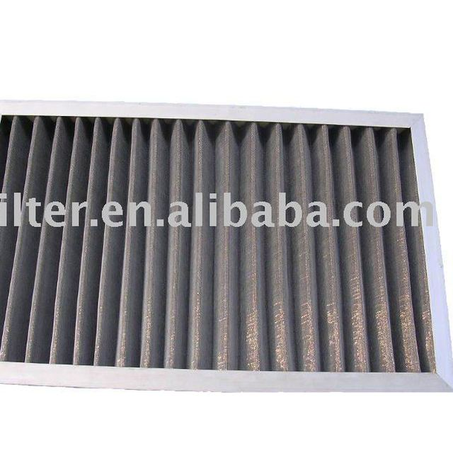Active carbon Plate and frame air filter