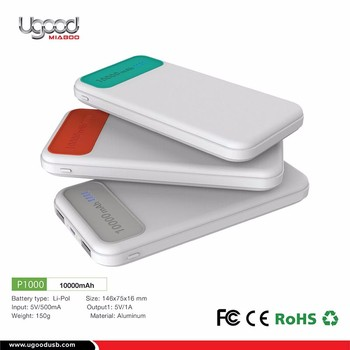 Inovation 2017 White Best Cell Phone Power Bank For Smartphone
