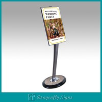 Advertising good quality promotional Aluminum poster stand