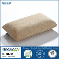 Hotel comfort bamboo covered lounge chair head anti snoring memory foam pillow