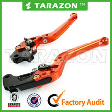 CNC Motorcycle Alloy Aluminum Folded Extendable Brake Clutch Lever for TRIUMPH TIGER 800/XC