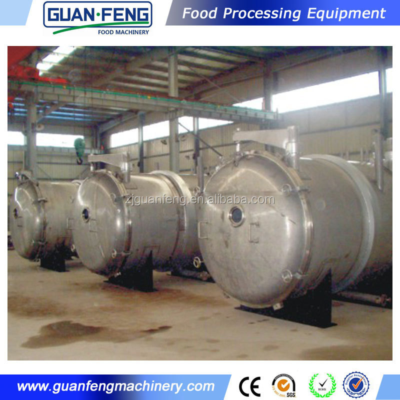 freeze drying equipment prices / freeze dried banana / industry vacuum dryer