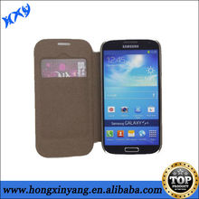 leather flip wallet case for samsung galaxy s4 i9500