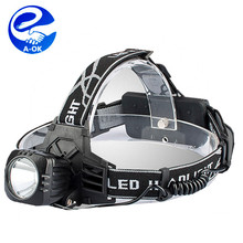 The new 2016 super bright T6 lamp 3 model high power head lamp Led camping USB charging head lamp