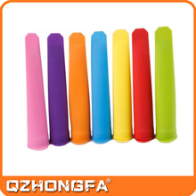 Food grade Sillicone Push Up Ice Cream Popsicle Mould/ Mold Jelly Lolly Pop Manufacturer