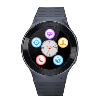 "ZGPAX S99 1.33"" Oncell Round Screen 3G Android Smart Watch Phone MTK6580 WiFi Bluetooth GPS Heart Rate"
