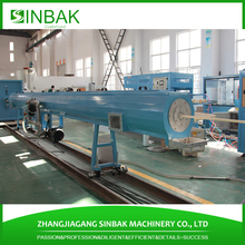 pvc pe pipe machine with water tank silicone sealant