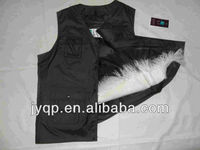 Wholesale Curly Tibetan Mongolian Lamb Fur Vest