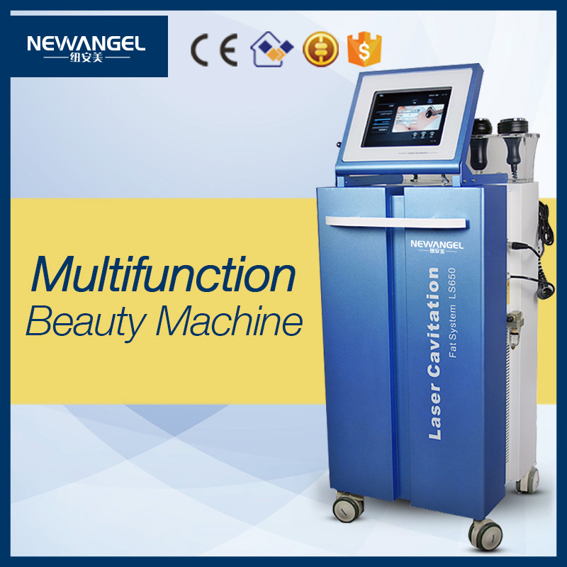 LS650 6 in 1 cavitation with lipo laser vacuum and rf beauty