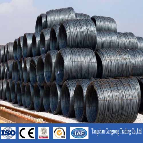 Prime Hot Rolled SAE 1008 Low Carbon Mild Coils Steel Wire Rod