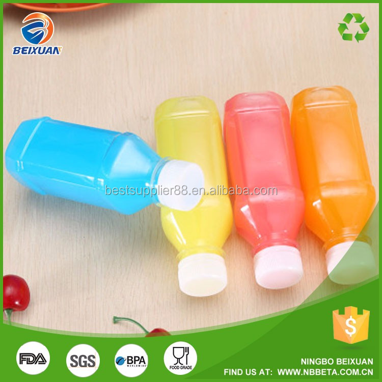 Plastic water bottle Plastic drinking water juice bottle