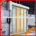 Industrial automatic high speed plastic roll up door use for warehouse
