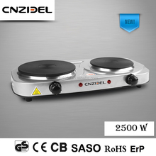 New Cnzidel double electric hot plate for cooking