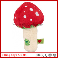 Hot Sale High Quality Baby Toys Stuffed Plush Mushroom Plush Baby Toys Mushroom