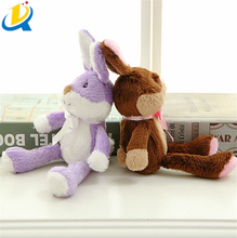 High quality hot selling cute cartoon rabbit plush easter decoration toy