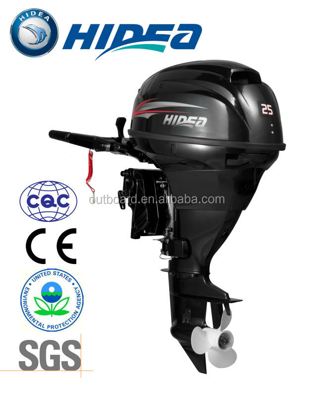 Top brand 4Stroke 25hp Used Outboard Motor (HIDEA) for sale