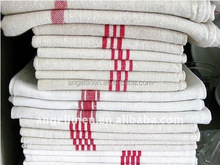 promotion cheap linen/cotton printing /vintage tea towels in high quality