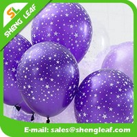 Printing latex balloon wholesales cheap non latex balloons