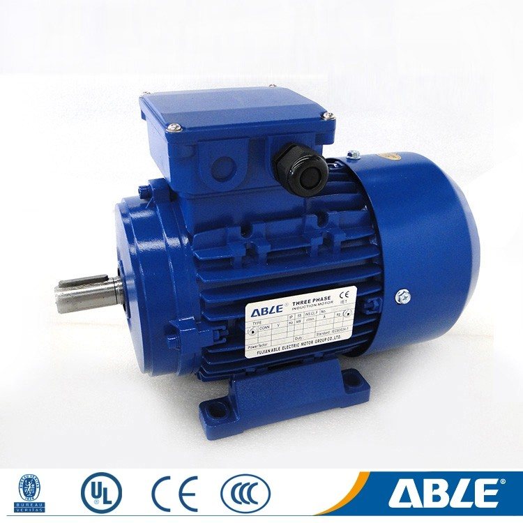 Ac able asynchronous jet ski flange to electric motor for conveyor belt