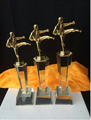 Oscar statuette custom high-grade metal trophy Alice