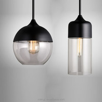 Pendant-Light-1710 Modern hand blown Glass hanging simple glass pendant lamp