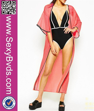 2015 Sexy Solid Swim Suit Bathing Suits Swimwear Cover Up Beach Dress