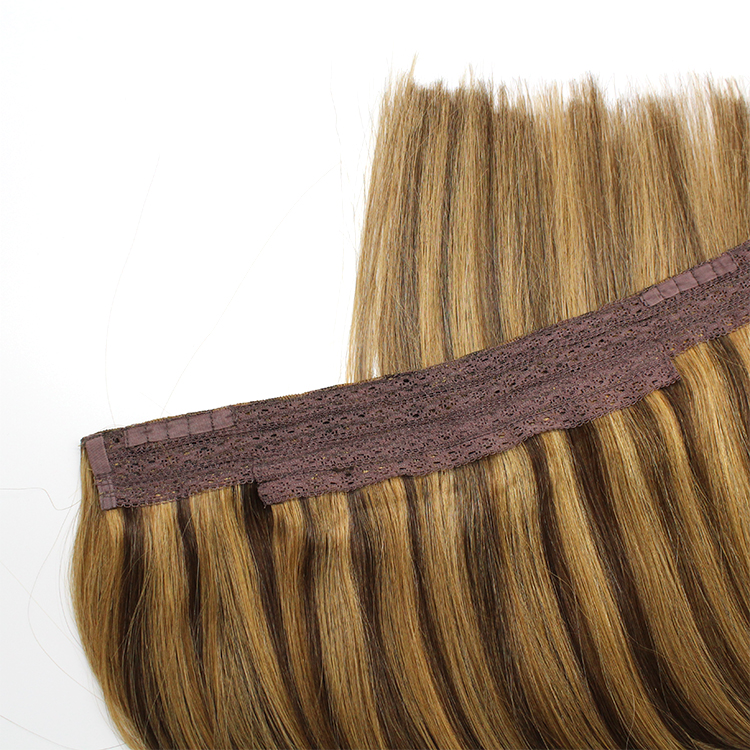 Unprocessed Factory Direct Supplied Halo Hair Extension