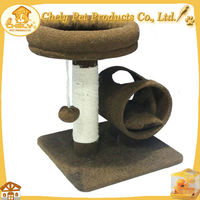 Deluxe Luxurious Indoor Cat Tree House Hot Sale Pet Toys