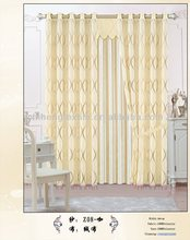 rod pocket top new style jacquard curtain