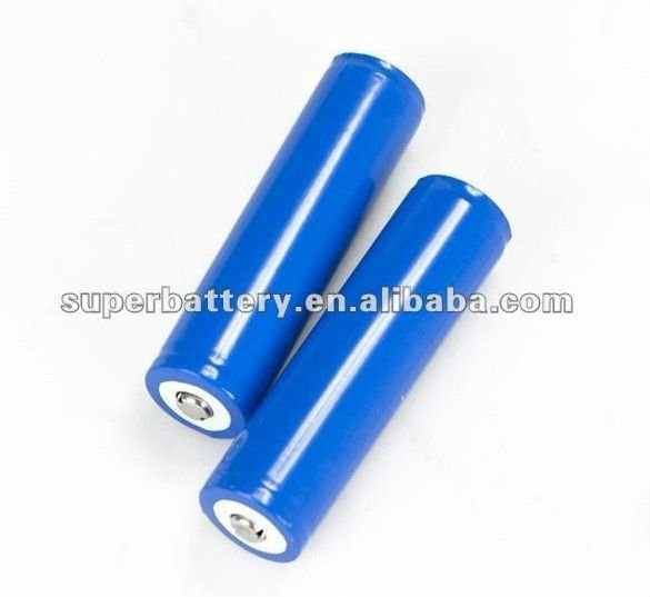 Rechargeable Cylindrical 18650 3.2v 1500mAh lifepo4 battery