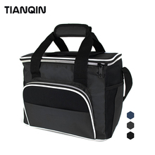 Premium Durable Tote 3 Meal Insulated PEVA Lunch Picnic Cooler Bag Zero Degrees Inner Cool
