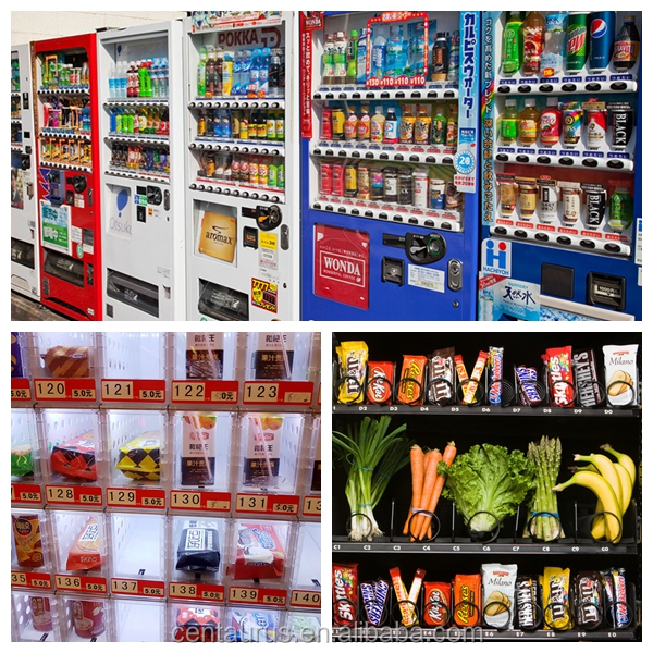 multiple functions salad vending machine with best price